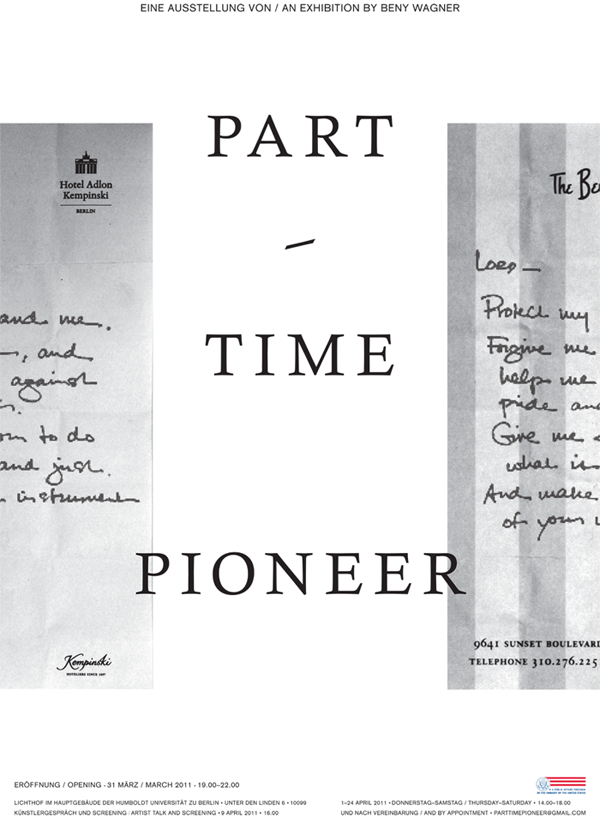 Part-Time Pioneer - April 12th, 2011